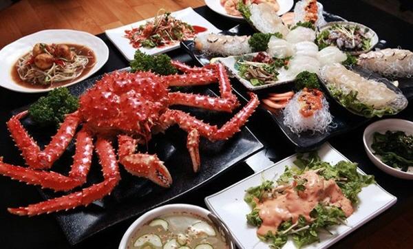 """美味的帝王蟹,济州岛""""满满(mori)""""帝王蟹专卖店 > -岛"""